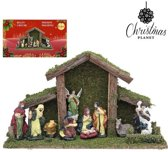 Kerststal set Christmas Planet 4448 (9 pcs)