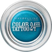 Maybelline Eye Studio Color Tatto 20 Turquoise Forever oogschaduw Blauw Shimmer