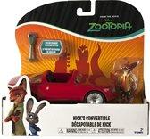 TOMY Zootropolis Voertuig The Foxster Nick's Convertible