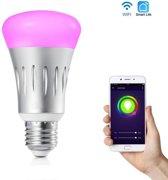 E27 Draadloze Wifi RGB-White Led lamp 7w