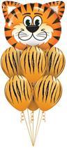 Kinderfeest Jungle Themafeest Tijger Ballonnen set