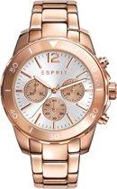 ESPRIT ES108262006 Horloge - Roestvrij staal  - Roos-Goud - 42 mm