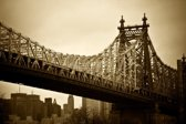 Papermoon New York Bridge Vlies Fotobehang 300x223cm 6-Banen