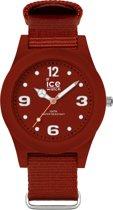 Ice-Watch ICE slim nature IW016448 horloge - Nylon - Rood - Ø 36 mm