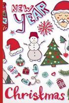 Santa Claus Christmas: Christmas Notebook, Lined Journal/Notes Christmas, Holiday Notebook: Lined Notebook, Christmas Notes, Blank Lined Jour