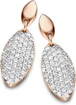 Velini jewels -EA6454R-2 -Oorbellen -925 Zilver rosé -Cubic Zirkonia