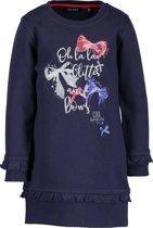 Blue Seven Meisjes Tuniek - Donker Blauw - Maat 122