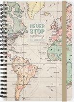 LEGAMI AGENDA 2020 - Week op 2 pagina's - Spiraal - verticale layout - 15x21cm - MAP