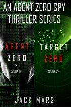 Agent Zero Spy Thriller Bundle: Agent Zero (#1) and Target Zero (#2)