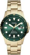 Fossil Dive horloge  - Goudkleurig