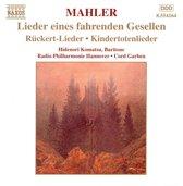 Mahler: Lieder eines fahrenden Gesellen, etc /Komatsu, et al