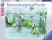 Ravensburger puzzel Kruidentuin - Legpuzzel - 1000 stukjes