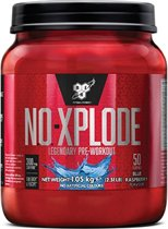 BSN N.O.-Xplode 3.0 - Pre-workout - 1000 gram - Blue Rasberry