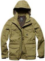 Vintage Industries Thomas jacket olive
