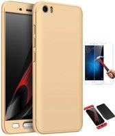 Teleplus Xiaomi Mi 5 360 Full Protected Cover Gold + Glass Screen Protector