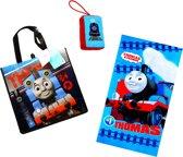 Thomas de Trein Standlaken + shopper + badspons   cadeau set