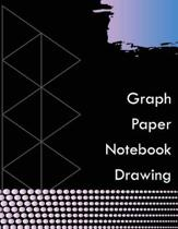 Graph Paper Notebook Drawing