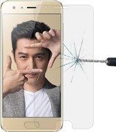 Let op type!! Voor Huawei Honor 9 0 26 mm 9H oppervlaktehardheid 2.5D gebogen rand gehard glas Screen Protector