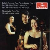 Bedrich Smetana: Piano Trio, Op. 15; Josef Suk: Piano Trio, Op. 2; Piano Quartet, Op. 1