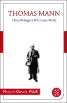Hans Reisigers Whitman-Werk. Ein Brief
