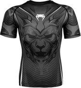 Venum Bloody Roar Rashguard - Short Sleeves Grey-XL