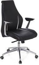 hjh office Carmini 10 - Bureaustoel -Zwart / ivoor