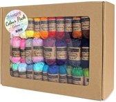 Scheepjes Catona Colour Pack - 109 kleuren x 10 gram (mini bolletjes)