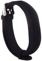 HIPFIT Siliconen bandje - Fitbit Flex 2 - Zwart