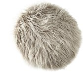 Riviera Maison - Siberian Faux Fur - Pillow - light grey - D38