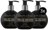 Black Mask - Gezichtsmasker van Black & Red Voordeelpakket