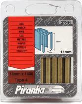 Piranha X70414 Type 4 Nieten 14mm Bosch PTK19E PTK28E, AEG,