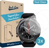 Just in Case Tempered Glass (0.2mm) Samsung Gear S3 - 3 pack