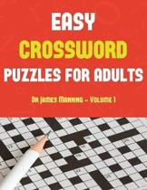 Easy Crossword Puzzles for Adults (Vol 1)