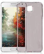 Samsung Galaxy Alpha G850F, 0.35mm Ultra Thin Matte Soft Back Skin case Grijs Grey
