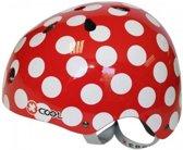Cycle Tech fietshelm Polka rood maat 58/61 cm