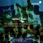Michael Blake: The Philosophy of Composition - Works for violoncello and piano