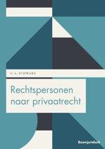 Boom Juridische studieboeken - Rechtspersonen naar privaatrecht