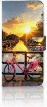 Samsung Galaxy A50 Flip Cover Amsterdamse Grachten