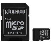 64GB microSDXC Class 10 Flash Card + SD Adapter