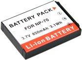 PATONA Battery f. Casio NP-70 Casio Exilim EX-Z150 EX-Z155 EX-Z250