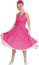 Petticoat jurk roze