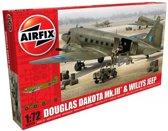 Airfix - Douglas Dakota Mkiii With Willys Jeep