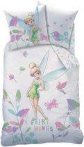 Disney Fairies Tinkerbell Wings - Dekbedovertrek - Eenpersoons - 140 x 200 cm - Multi
