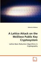 A Lattice Attack on the McEliece Public Key Cryptosystem