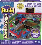 Kinetic Sand Build Crash'em Cars - Speelzand