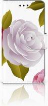 Huawei P20 Uniek Boekhoesje Roses