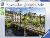 Ravensburger puzzel Zomers Straatsburg - legpuzzel - 1500 stukjes