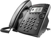 Polycom VVX310 Business Media Phone - Zwart