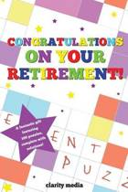 Congratulations on Your Retirement Puzzle Book