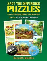 Spot the Difference Puzzles - Book 5